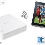 家の中でiPad、iPhoneを使ってフルセグの地デジやBS/CS放送を視聴する方法>>SB-TV02-WFPL
